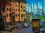 Район города после нашествия зомби