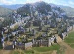 Владения, замок и постройки в нем