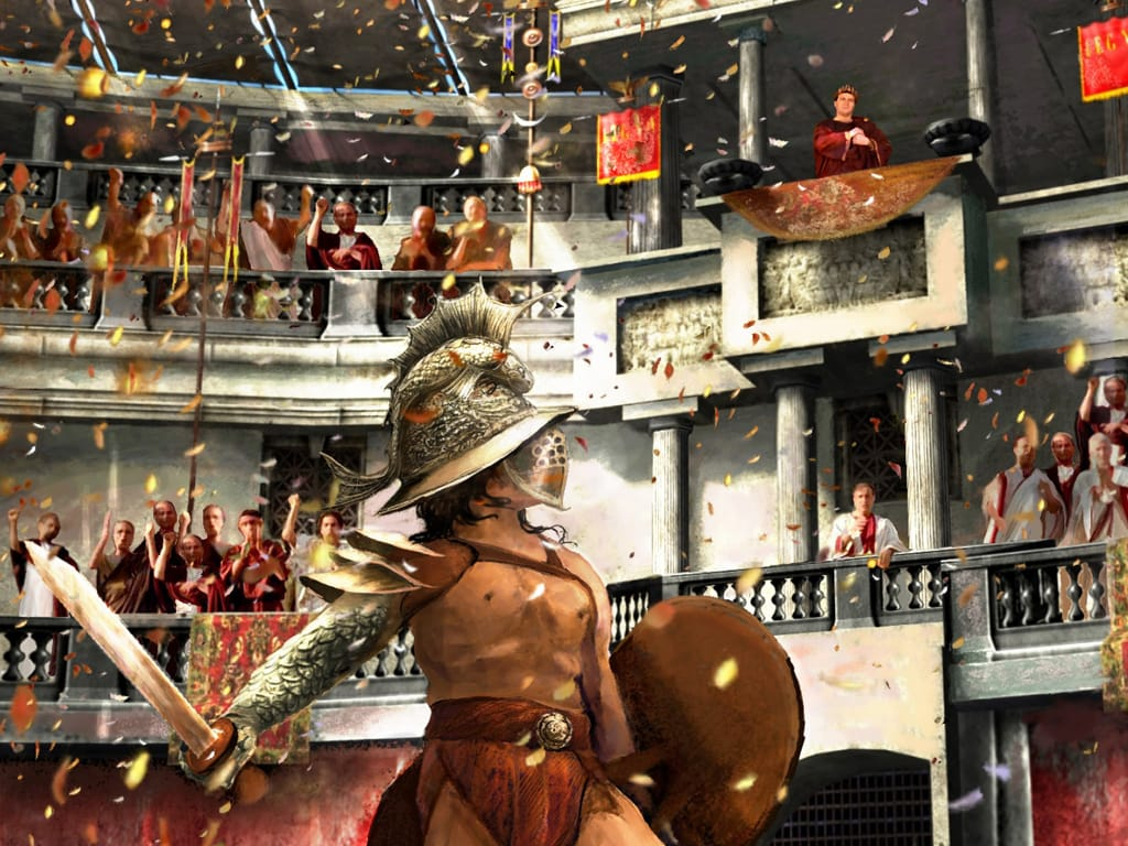 игра бой за рим