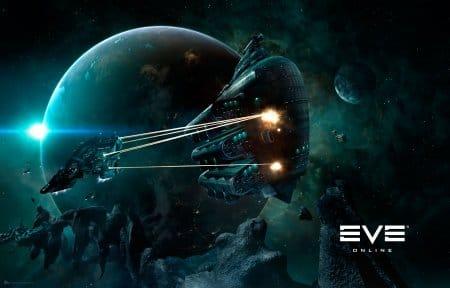 EvE online обзор поединка в игре