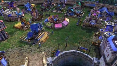 Если решили играть в Prime world приготовьтесь к таким пейзажам