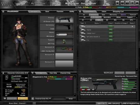 Прежде, чем начать играть в Combat Arms выберите правильную амуницию