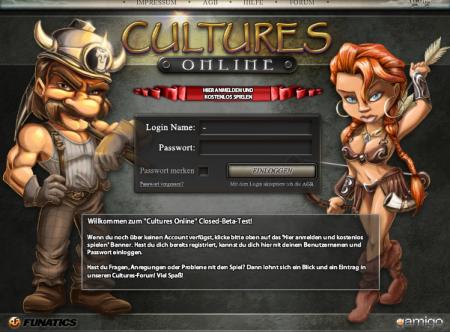 Регистрация Cultures Online