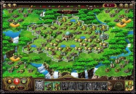 Игра My lands 2 — город