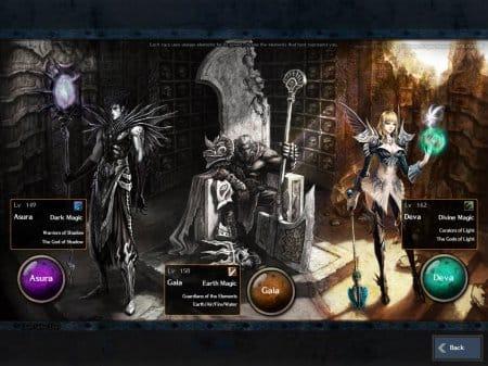 Гайя, Девы и Асура — расы в онлайн игре Rappelz Online