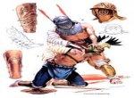 Картинка гладиаторов