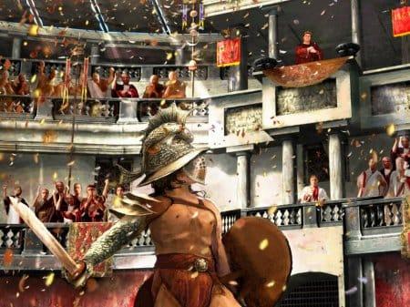 Играть в Гладиаторы Онлайн — это помнить, что за вами следит сам инмператор