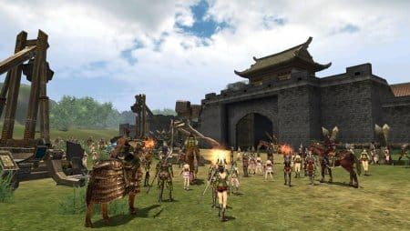 Осада укреплений в онлайн-игре Путь императора