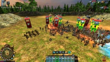 Сражение на полях World of Battles Morningstar