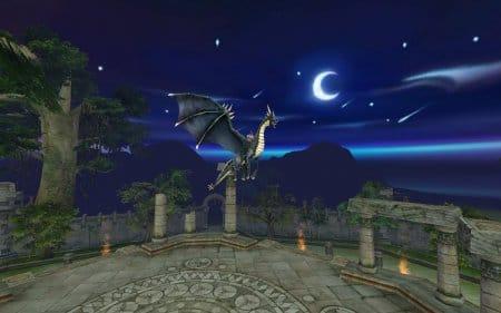 Полеты в игре Повелители драконов онлайн