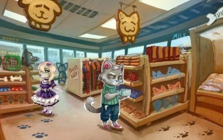 Играть в игру Грызня можно и на улице и в супермаркете