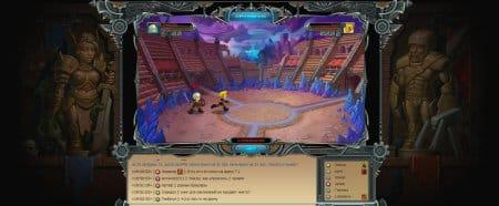 Сражение на просторах онлайн игры Гнев Богов. Арена