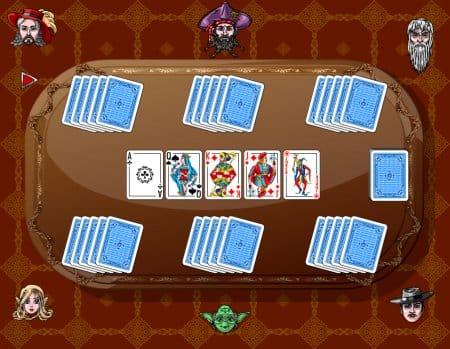 Игроки найдены, карты розданы