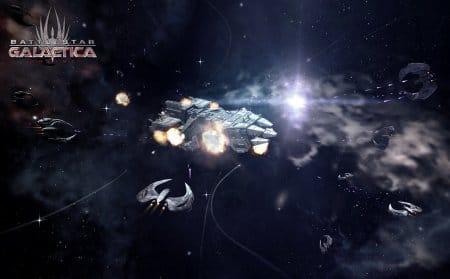 Начните играть в Battlestar Galactica Online и примите участия в космических сражениях