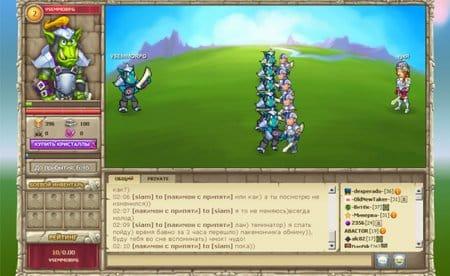 Бой в онлайн-игре Авангард Онлайн