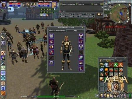 Характеристика персонажа в Арена Онлайн