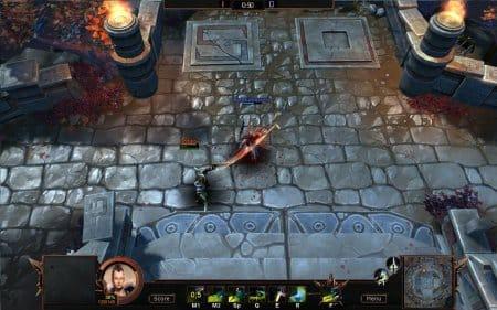 Онлайн игра Bloodline Champions:Поединок под светом факелов и на каменном твердом полу