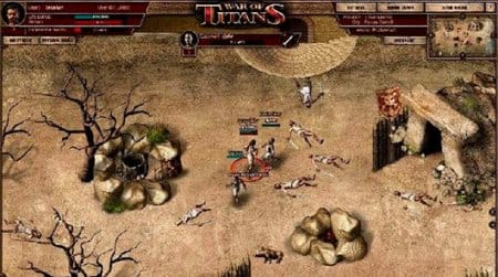 Играть в War of titans можно не только на арене