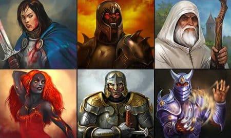 Герои игры Легенда: Наследие драконов