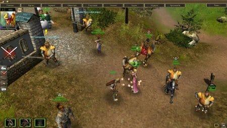 Стража у ворот в игре Осаде Онлайн