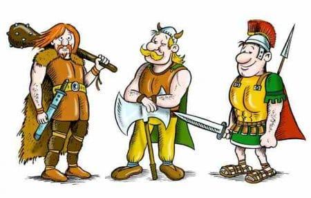 Выбирайте за какую расу играть онлайн В Траиа: германцы, галлы или римляне