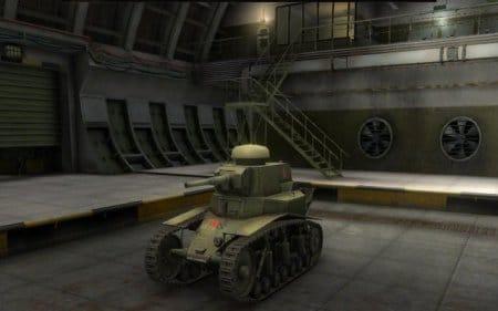 Доступный стартовый танк МС-1 – легкий танк, первый в ветке прокачки Советского Союза