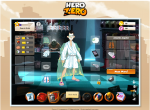 Герой Hero Zero в дождевике