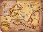 Карта мира Carnage
