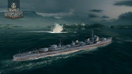 Один из эсминцев