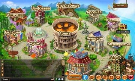 Карта мира в игре Бумз онлайн