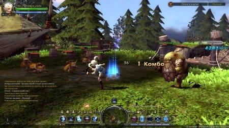 Игровой мир Dragon Nest