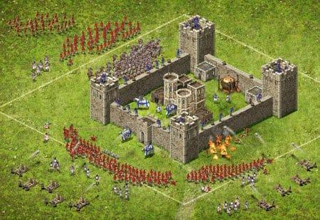 В онлайне Stronghold Kingdoms имеет больше возможностей