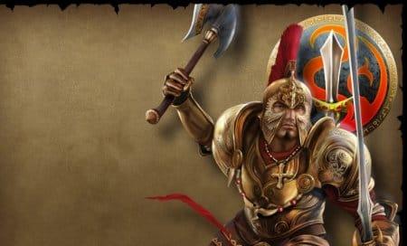 Воин в игре Runes of magic