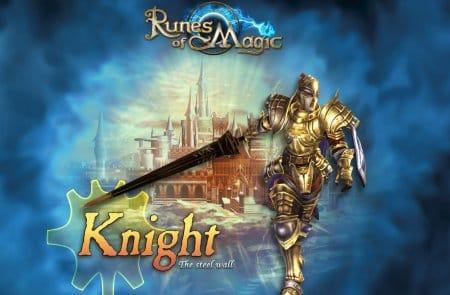Храбрый воин игры Runes of Magic