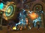 Бой с одним из боссов игры Runes of Magic