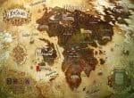 Карта мира Romadoria