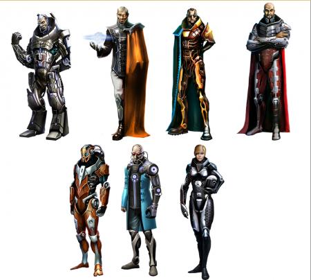 Наемные генералы в игре Astrolords
