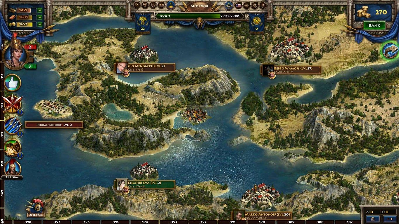 Военные игры в спарте война империй