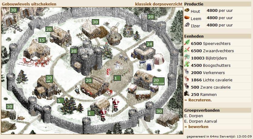 Война деревень играть