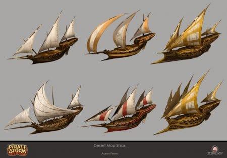 Типы кораблей рис. 1.