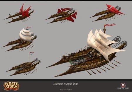 Типы кораблей рис. 2.