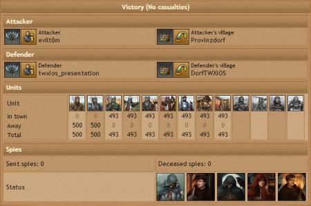 Стороны противостояния в сражении.