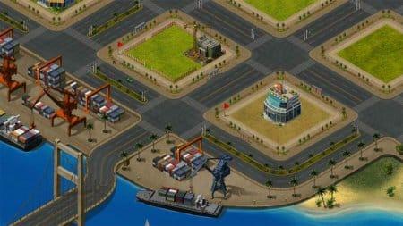 Морской порт в игре «Олигарх».