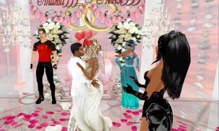 Свадьба в игре Love City 3D.
