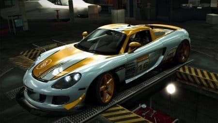 Автомобиль S-класса Porsche Carrera GT / «Ultra».