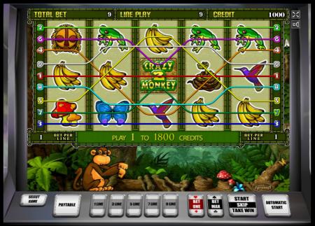 Crazy Monkey 2 (игровой автомат Обезьянки 2)