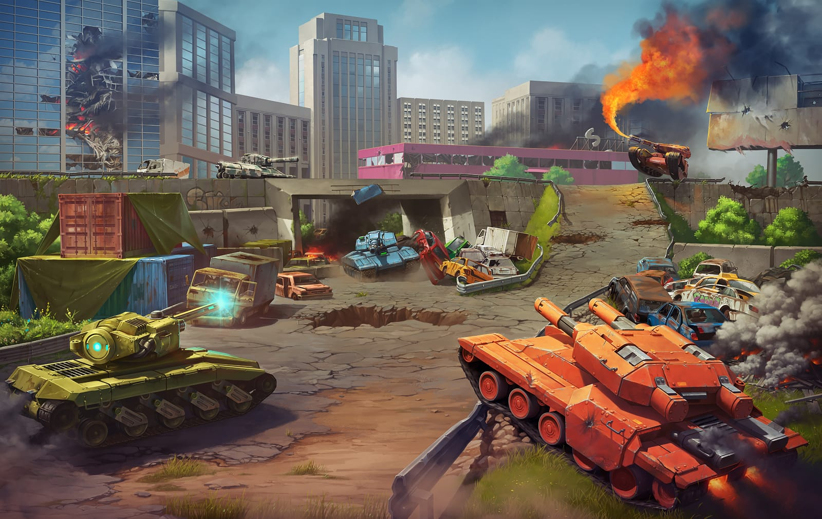 500 world of tanks играть в втроём
