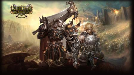 Воины на поле сражения