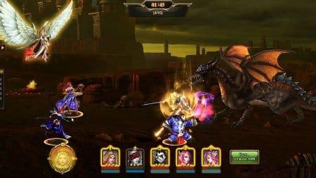 В боях игры Dark Fury